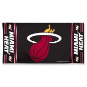 NBA Miami Heat 30 by 60 Fibre Reactive Beach Towel