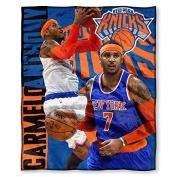 Northwest New York Knicks NBA Carmelo Anthony Silk Touch 130cm x 150cm Throw