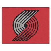 FANMATS 19471 90cm x 110cm Team Colour NBA - Portland Trail Blazers All-Star Mat