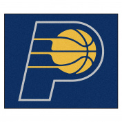 FANMATS 19445 NBA - Indiana Pacers Tailgater Rug , Team Colour, 150cm x 180cm
