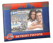 NBA Detroit Pistons Padded Front 10cm x 15cm Picture Frame, One Size