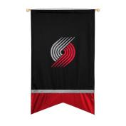 NBA Portland Trail Blazers Sidelines Wall Flag, 24 x 40, Black
