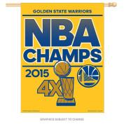 Golden State Warriors Official NBA 70cm x 90cm 2015 NBA Finals Champions Vertical Flag by Wincraft 060365