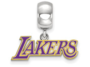 Los Angeles Lakers Bead Charm Small (1.3cm ) Dangle