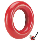 JP Lann Golf Weighted Swing Ring for Practise/Training, Red