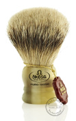 Omega Short Silvertip Badger Shaving Brush