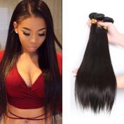 CCOLLEGE Hair Malaysian Straight wave 3 Bundles 8A Grade 100% Unprocessed Virgin Himan Hair 100g / Bundle Remy Hair No Sheeding