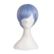 """MapofBeauty 12""""/30cm Unisex Short Charms Anime Cosplay Costumes Wig"""