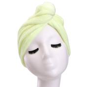 YYXR Microfiber Hair Drying Towel Ultra Absorbent Twist Hair Turban Drying Cap Hair Wrap