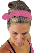 ice cream Removable BOW Fucsia Fuchsia Fitness Headband