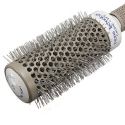 Fashion Professional Salon Barber Hair Dressing Styling Ceramic Iron Round Comb Brush For Womens Hairs Beauty