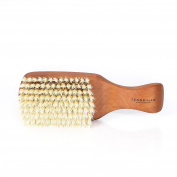 Fendrihan Genuine 100% Pure Boar Men's Hair Brush with Pearwood Handle and Soft Light Bristles MADE IN GERMANY