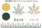 Herb Temporary Tattoos