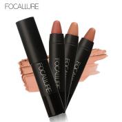 Perman Long-lasting Red Velvet Matte Colour Pencil Crayon Lipstick Makeup Set