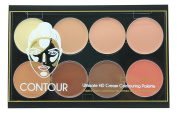 Celavi Contour and Highlight 8 Colour Palette Easy To Use Kit