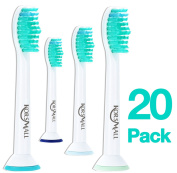 Replacement Toothbrush Heads for Philips Sonicare Proresults, Compatible with DiamondClean, EasyClean, FlexCare series, HealthyWhite, Plaque Control and Gum Health Handles