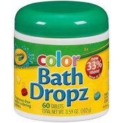 Crayola. Colour Bath Dropz by Binney & Smith