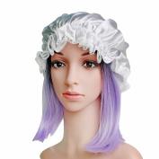 Savena 100% Mulberry Silk Night Sleep Cap Head Cover Bonnet Hat for Beautiful Hair Free Size