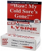 Morgans Lysine Medicated Lip Balm, 5ml Per Box