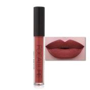 Tenworld 1 PC Women Matte Lipstick Lasting Non-marking Matte Lip Gloss