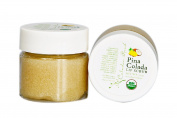 Celadon Road Pina Colada Lip Scrub - USDA Certified Organic - 100% Natural - Made in USA - .2220ml