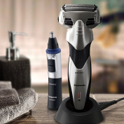Panasonic Men's Arc Precision Shaving West/Dry Shaver (ES-SL83-S) and Personal Trimmer (ER-GN30-K) Combo Kit