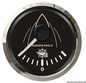 Rudder angle indicator black/glossy