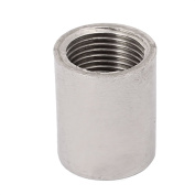 sourcingmap® 3/8 PT Female Thread Rod Coupling Connector Straight Pipe Fitting