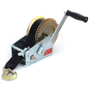 910kg Hand Boat Winch with 8m Webbing Strap