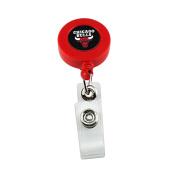 Chicago Bulls Sports Team Logo Retractable Badge Reel Id Ticket Clip