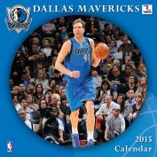 Turner Perfect Timing 2015 Dallas Mavericks Team Wall Calendar, 30cm x 30cm