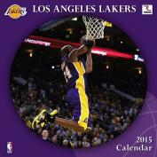 Turner Perfect Timing 2015 Los Angeles Lakers Team Wall Calendar, 30cm x 30cm