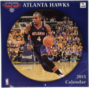 Turner Perfect Timing 2015 Atlanta Hawks Team Wall Calendar, 30cm x 30cm