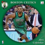 Turner Perfect Timing 2015 Boston Celtics Team Wall Calendar, 30cm x 30cm
