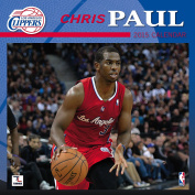 Turner Perfect Timing 2015 Los Angeles Clippers Chris Paul Player Wall Calendar, 30cm x 30cm