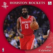 Turner Perfect Timing 2015 Houston Rockets Team Wall Calendar, 30cm x 30cm