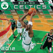 John F. Turner Boston Celtics 2012 Wall Calendar - 12X12
