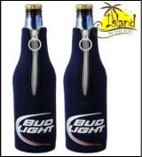 2 Bud Light Logo Beer Bottle Suits Cooler Huggie Coolie