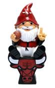 NBA Chicago Bulls Sitting On Logo Gnome, Red