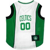 Boston Celtics Dog Jersey XSmall