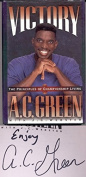 """AC Green signed """"Victory"""