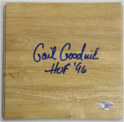 Gail Goodrich Hand Signed Piece of Wood Floorboard UCLA Lakers
