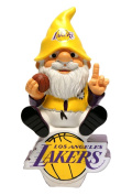 Forever Collectibles - Los Angeles Lakers Gnome On Team Logo