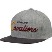 Mitchell and Ness NBA Cleveland Cavaliers Tri Pop Script Grey Snapback Cap