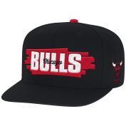 Mitchell and Ness NBA Chicago Bulls Winning Streak Black Snapback Cap