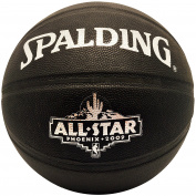 Spalding NBA All Star Game Phoenix 09 Black Leather Basketball