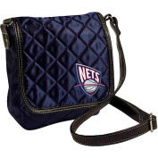 New Jersey Nets Vintage Retro NBA Licenced Quilted Purse Handbag