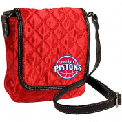 Detroit Pistons NBA Licenced Quilted Purse Handbag