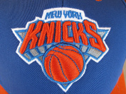 NBA New York Knicks Youth Basic Structured Adjustable Cap, Multi, One Size Fits All