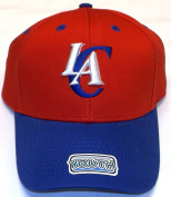 NBA Los Angeles Clippers Youth Basic Structured Adjustable Cap, Multi, One Size Fits All